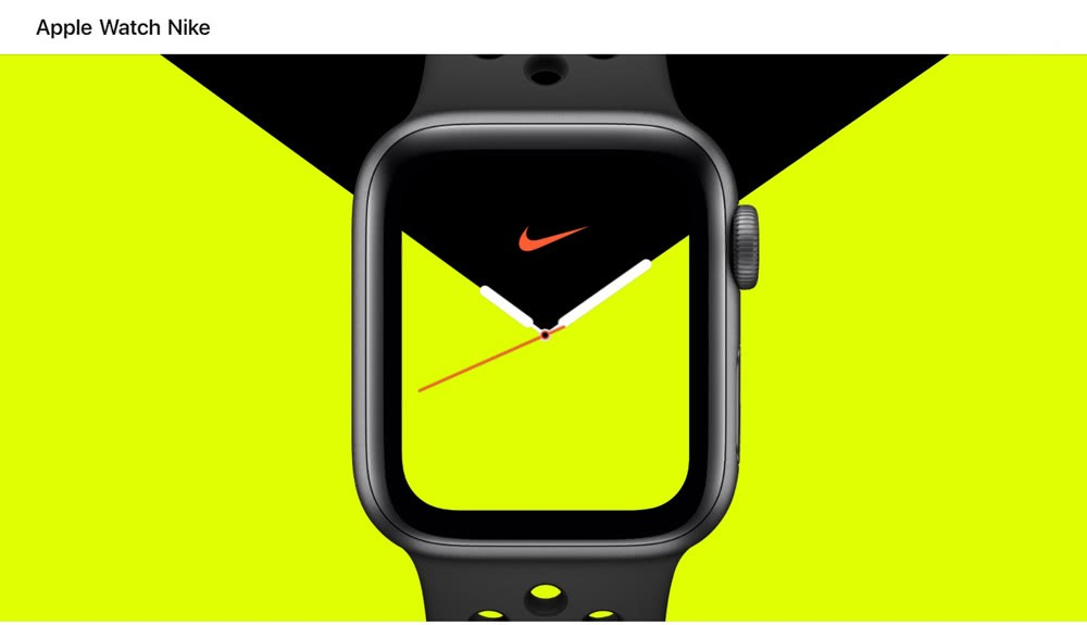 Apple Watch S5 NIKE