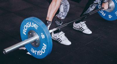 健身舉重鞋