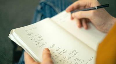 手寫訓練菜單