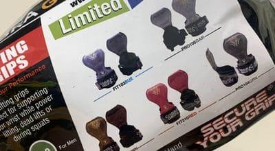 Cobra Grips的5種顏色