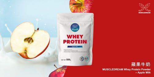 MUSCLEDREAM乳清蛋白-蘋果牛奶