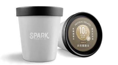 Spark protein優蛋白冰淇淋-炭焙鐵觀音