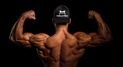 背部肌肉展示