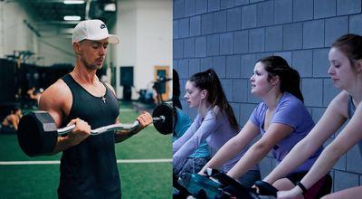 重量訓練與跑步機訓練