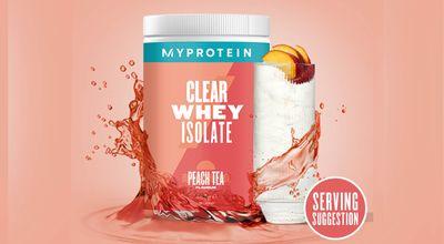 My protein透明分離乳清蛋白-水蜜桃冰茶