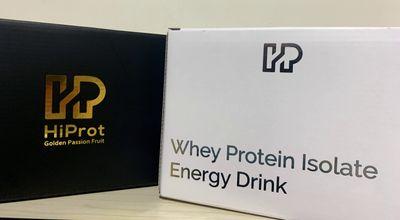 HiProt清爽分離乳清蛋白外包裝